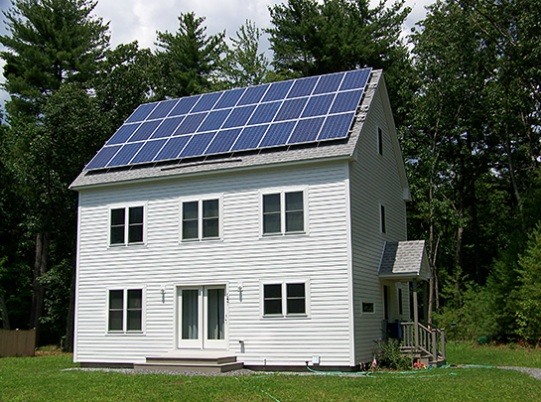 Design For Zero Net. Zero Energy Home Massachusetts