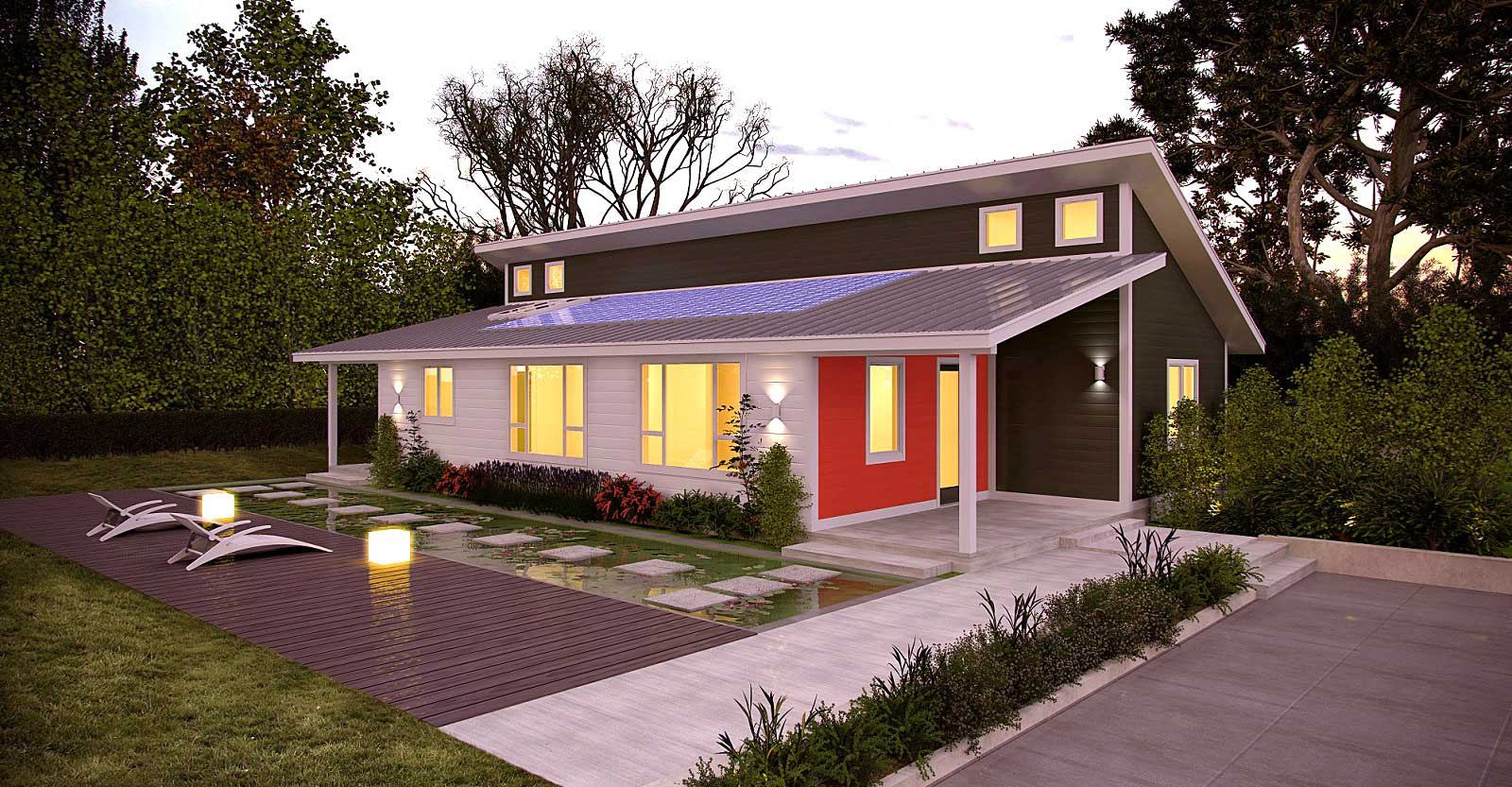 Prefab zero energy homes zero energy project for Zero net energy home